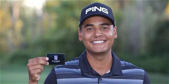 Juan Sebastián Muñoz, mejor debut colombiano en el PGA
