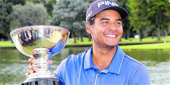 El colombiano Juan Sebastián Muñoz estrena su tarjeta del PGA