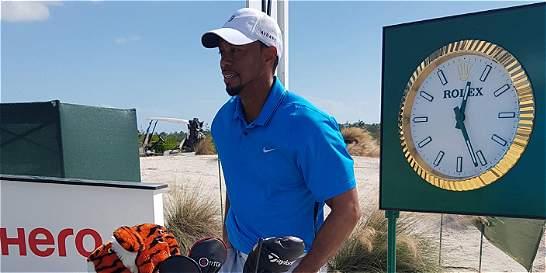 Tiger Woods, listo para volver a la cancha en el Hero World Challenge