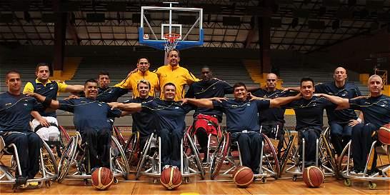 Colombia, lista para Copa Mundo de Baloncesto en Silla de Ruedas