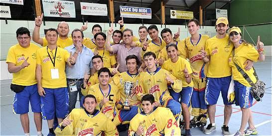 Colombia, campeón de la Copa Mundo de hockey en línea