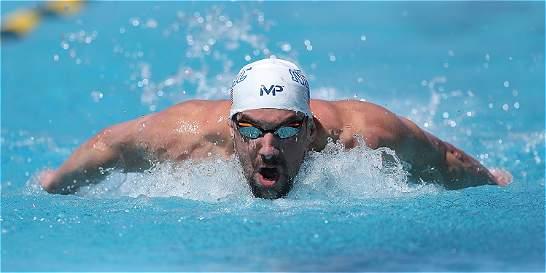 Michael Phelps reapareció dominando los 100 metros mariposa en Arizona