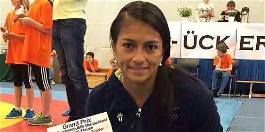 Carolina Castillo, oro en Grand Prix de lucha en Alemania