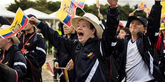 Colombia es líder en las Olimpiadas Especiales FIDES 2015