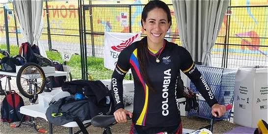 Mariana Pajón ganó la contrarreloj y está lista para luchar por el oro