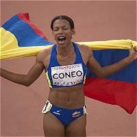 Muriel Coneo entrega a Colombia la medalla de oro número 27