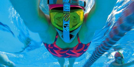 La natación con aletas, un deporte con instinto animal