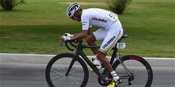 Diego Dueñas, ciclista colombiano.