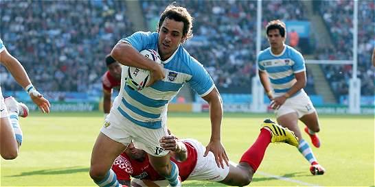 Los Pumas cerca de pasar a los cuartos de final del mundial de rugby