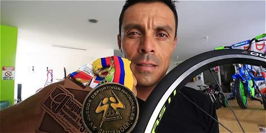 Víctor Hugo Peña volvió al podio de los Nacionales