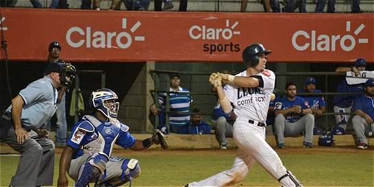 Leones ganó y forzó sexto juego en la final del béisbol colombiano