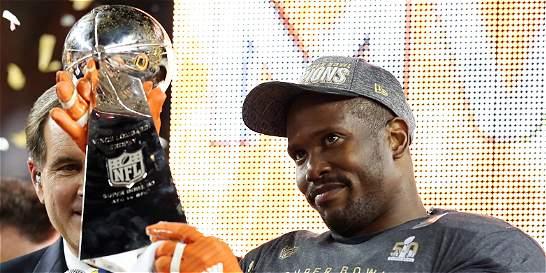 El apoyador externo Von Miller nombrado como MVP del Super Bowl