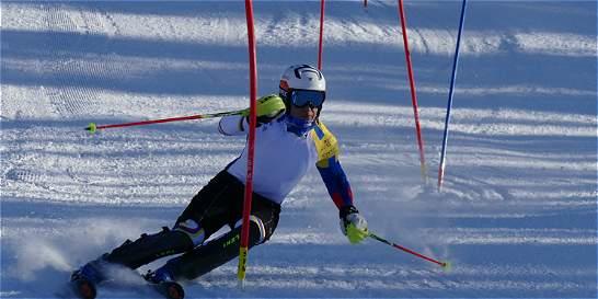 El único colombiano en los Olímpicos juveniles de invierno