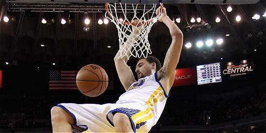 Warriors derrotó a Trail Blazers con notables Curry y Thompson