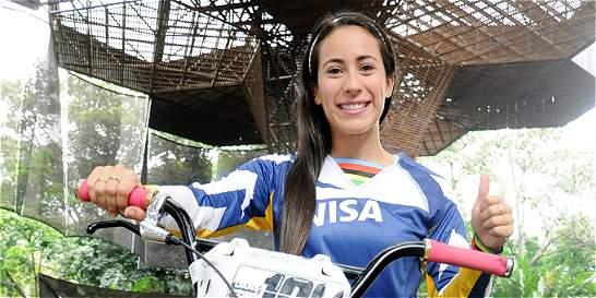 Mariana Pajón ganó la contrarreloj en Copa Mundo de BMX