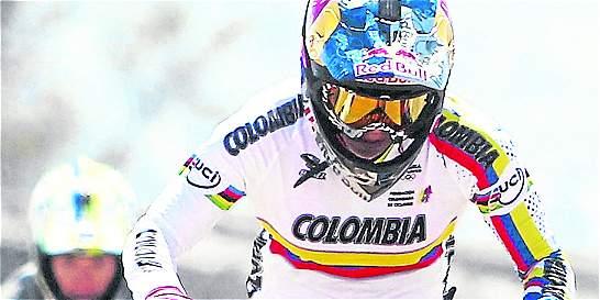 Mariana Pajón, plata en la prueba élite de la Copa Mundo de BMX