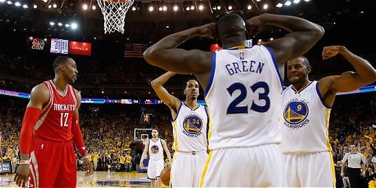 Warriors ya está en semifinales; Trail Blazers y Hornets, a un triunfo