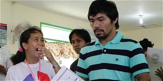 Manny Pacquiao, el controvertido nuevo senador de Filipinas