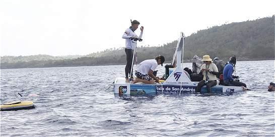 San Andrés abrió sus puertas al campeonato de Apnea
