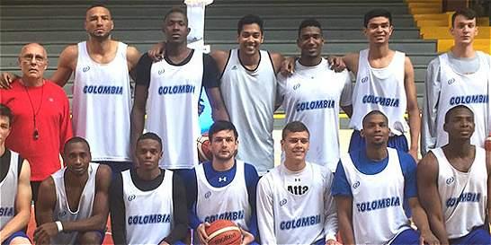 Selección Colombia de baloncesto, lista para el Suramericano