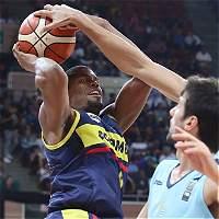 Colombia perdió con Uruguay en el Suramericano de baloncesto
