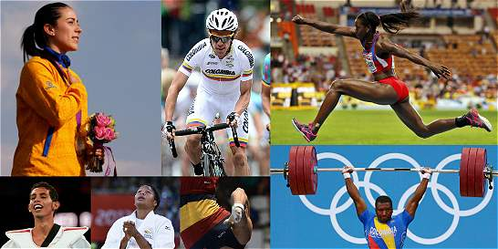 Gráfico: ¿Qué deportistas ganarían una medalla olímpica para el país?