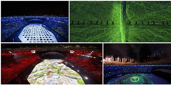 Fotos: luces y música en la inauguración de los Juegos de Río 2016