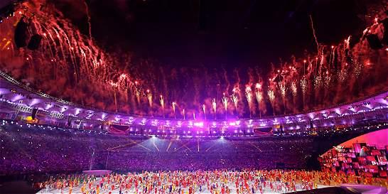 El pebetero olímpico ya está encendido, ¡que empiecen los Juegos!