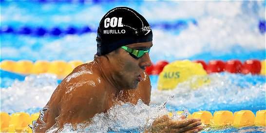 El nadador Jorge Murillo quedó de último en la semifinal de 100m pecho