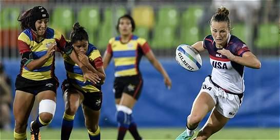 La selección femenina de Rugby perdió sus dos partidos del día