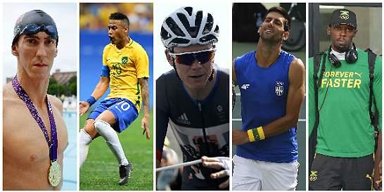En los Olímpicos, ¡cinco megacolosos del planeta!