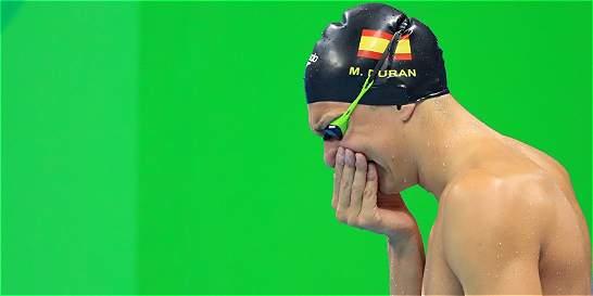Lloró y lloró hasta que le perdonaron salto en falso en los Olímpicos