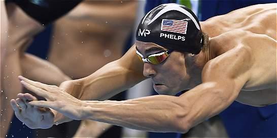 Los datos récord de Michael Phelps, la 'bala de Baltimore'