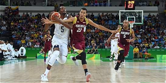 Paliza en el baloncesto Olímpico masculino: EE. UU. 113 Venezuela 69