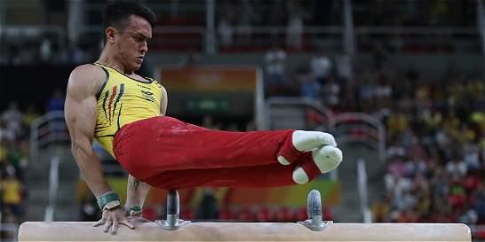 Jossimar Calvo finalizó décimo en la competencia Múltiple de Gimnasia