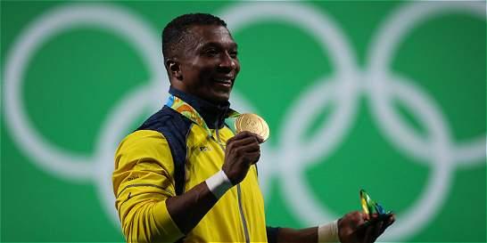 Figueroa, víctima del conflicto armado que alcanza la gloria olímpica