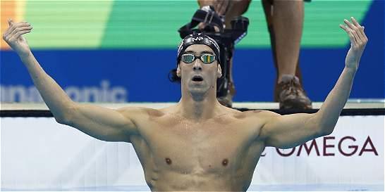 ¡Michael Phelps lo hizo de nuevo! Ya sumó 21 medallas de oro