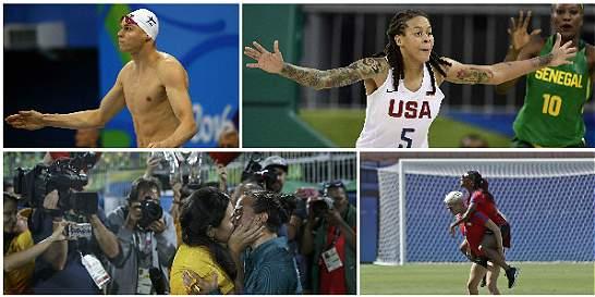 En fotos: los Olímpicos de la diversidad sexual