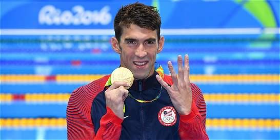 Phelps no se detiene: otro oro y EE. UU. sigue liderando