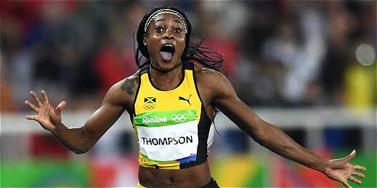 Jamaiquina Elaine Thompson, la nueva reina de los 100 metros planos