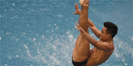 Sebastián Morales clasificó a la final de clavados trampolín 3 metros