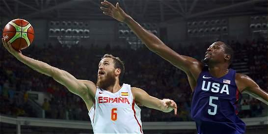 EE. UU. derrotó a España y clasificó a la final de baloncesto