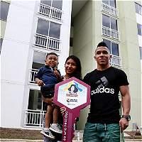 Yuberjen y Luis Mosquera cumplirían el sueño de tener vivienda propia