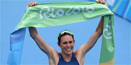 Gwen Jorgensen, nueva campeona olímpica de triatlón Río de Janeiro