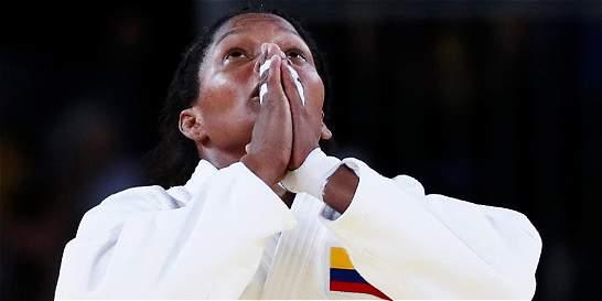 Lágrimas y sueños que le dieron a Yuri Alvear otra medalla
