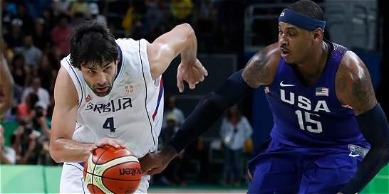 Estados Unidos se coronó campeón del baloncesto olímpico
