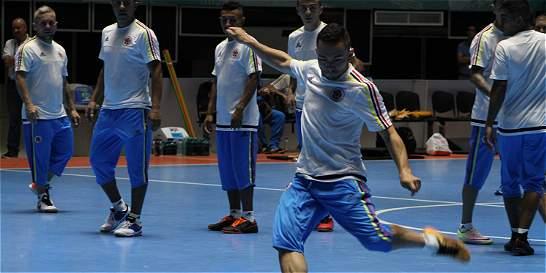 Colombia se estrena este sábado en su Mundial de Futsal