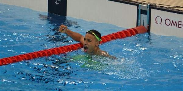Barreto, medalla de bronce en los 100 metros