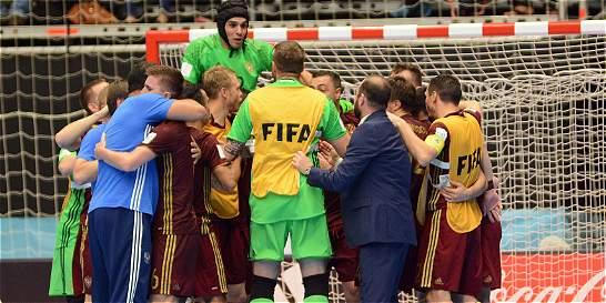 Rusia, primer finalista del Mundial de Futsal