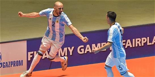 Argentina es el otro finalista del Mundial de Futsal
